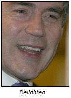Gordon Brown: Delighted