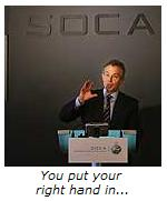 Tony Blair launching SOCA