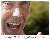 Tony Blair: Past his political prime